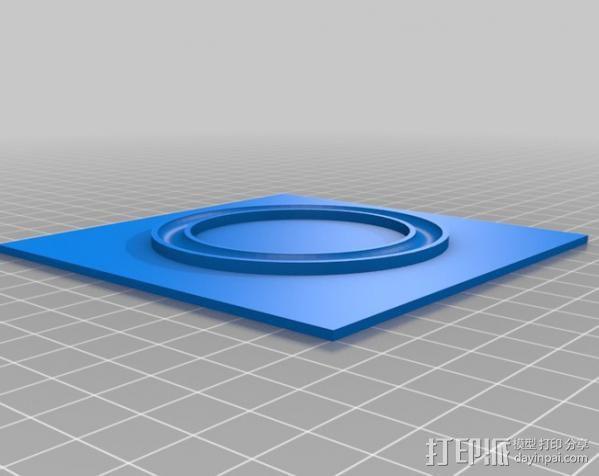 滚珠承轴 3D模型  图2