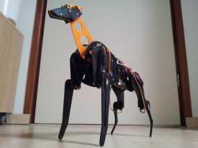 机械狗 3D模型