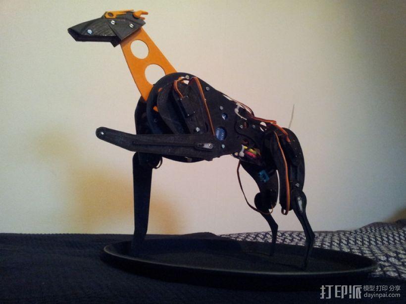 机械狗 3D模型  图4