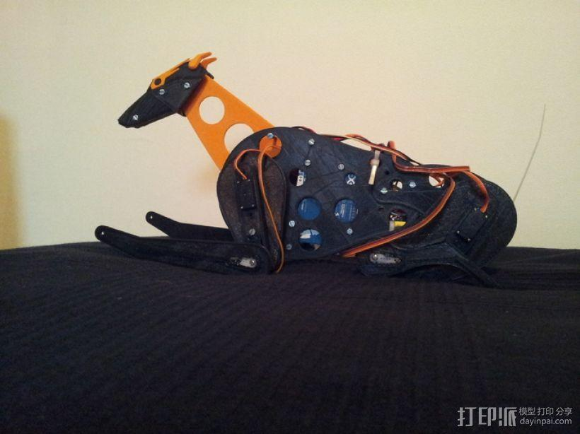 机械狗 3D模型  图2