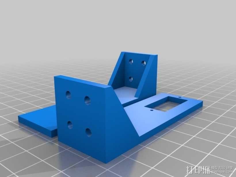 多轴飞行器 通用相机常平架 3D模型  图8