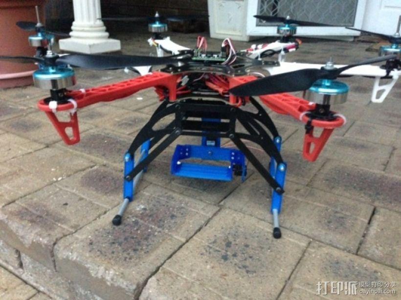多轴飞行器 通用相机常平架 3D模型  图11