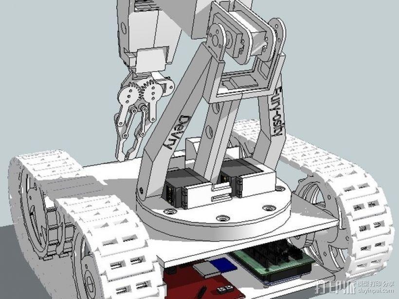 Furyosity机器人 3D模型  图1