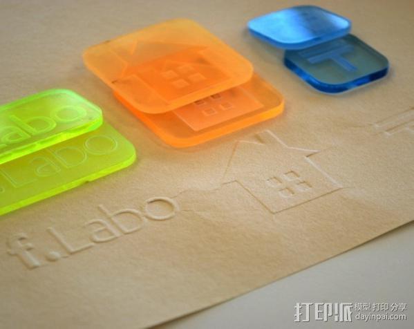 印压机 3D模型  图5