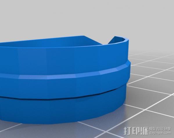 乐器拇指拨子 3D模型  图2