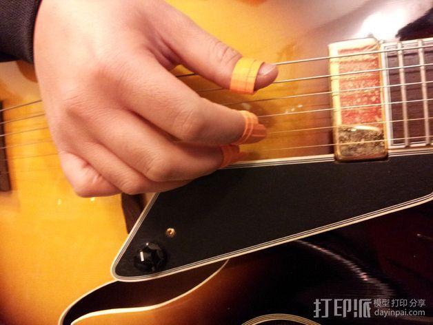 乐器拇指拨子 3D模型  图3