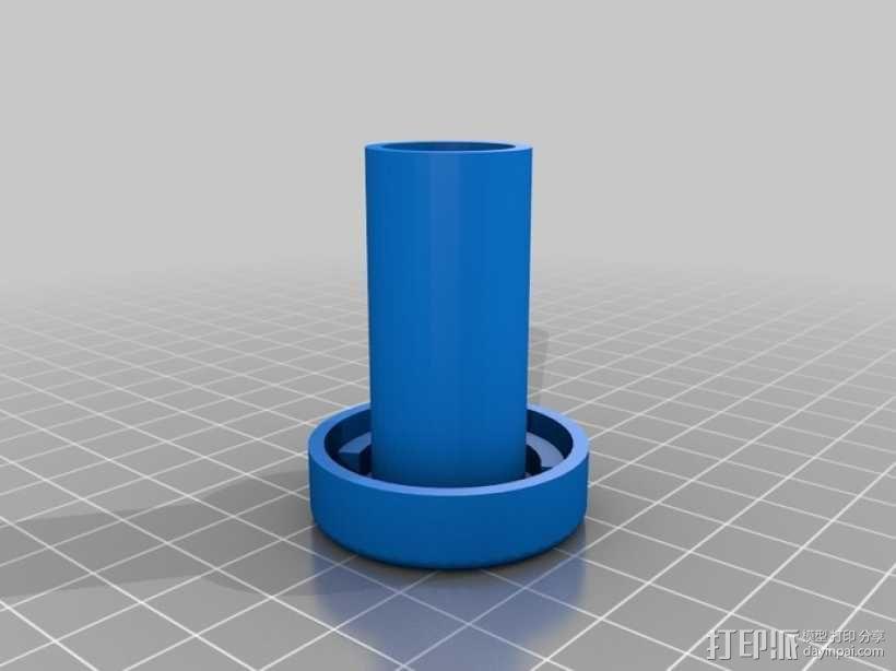葡萄酒气锁 3D模型  图2