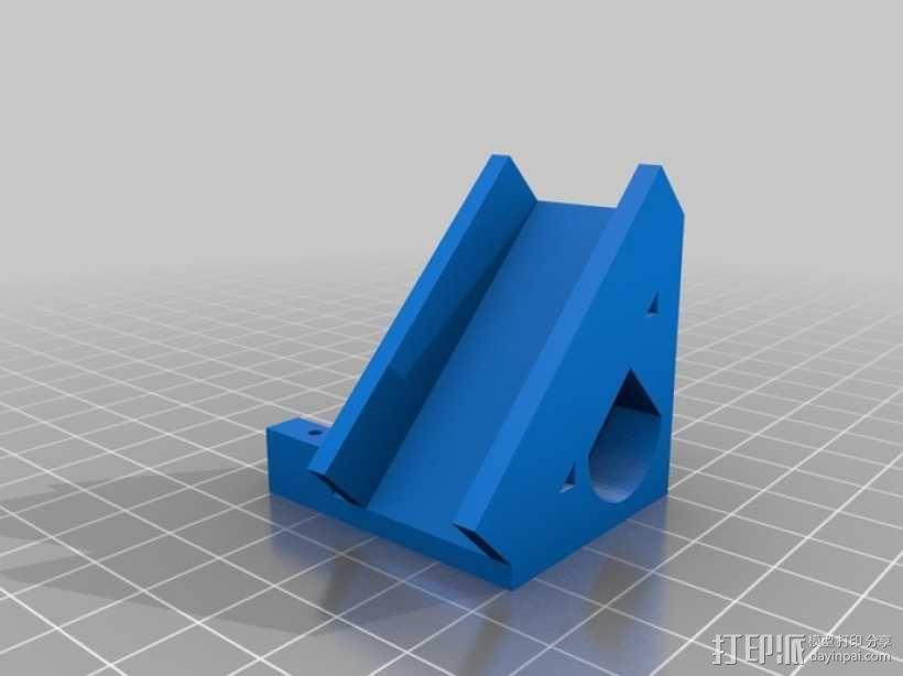 四轴飞行器 方形管 3D模型  图2