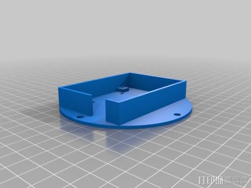 四轴飞行器 方形管 3D模型  图5