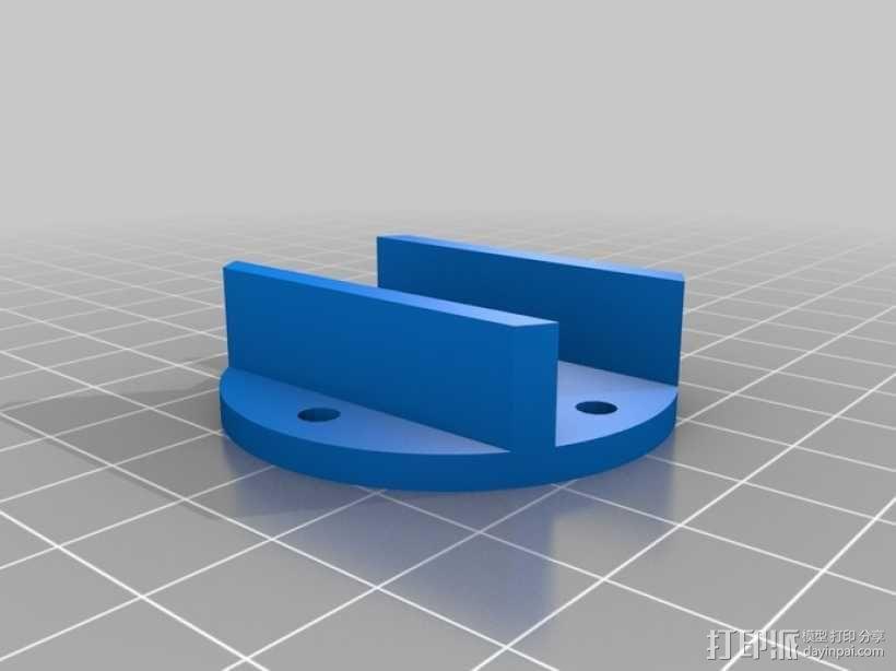 四轴飞行器 方形管 3D模型  图7
