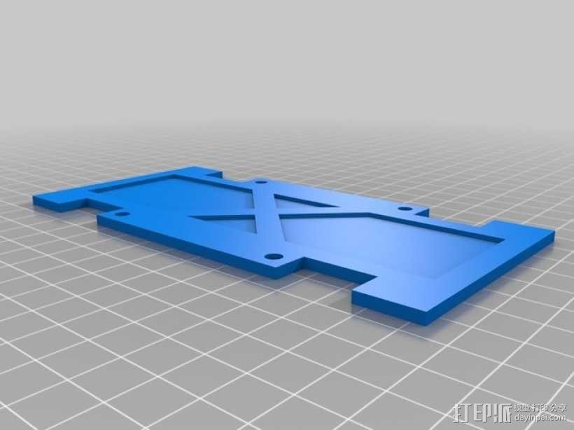 四轴飞行器 方形管 3D模型  图8
