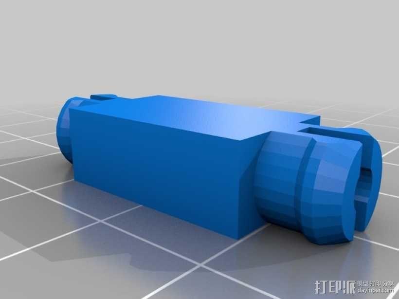 四轴飞行器 方形管 3D模型  图10