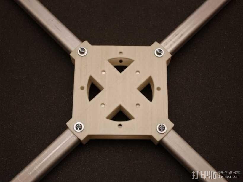四轴飞行器 方形管 3D模型  图12