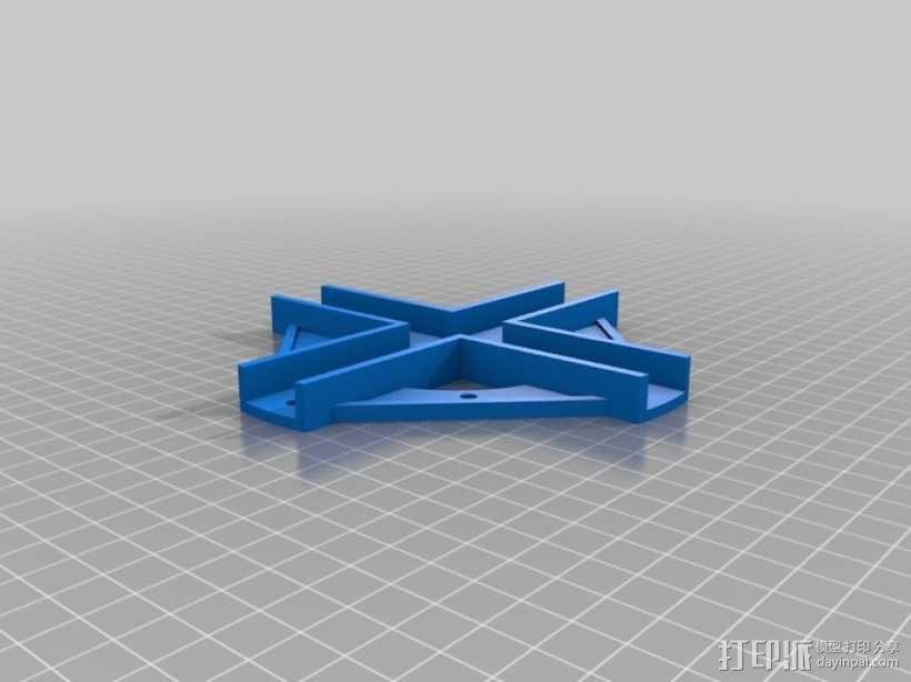 四轴飞行器 方形管 3D模型  图11