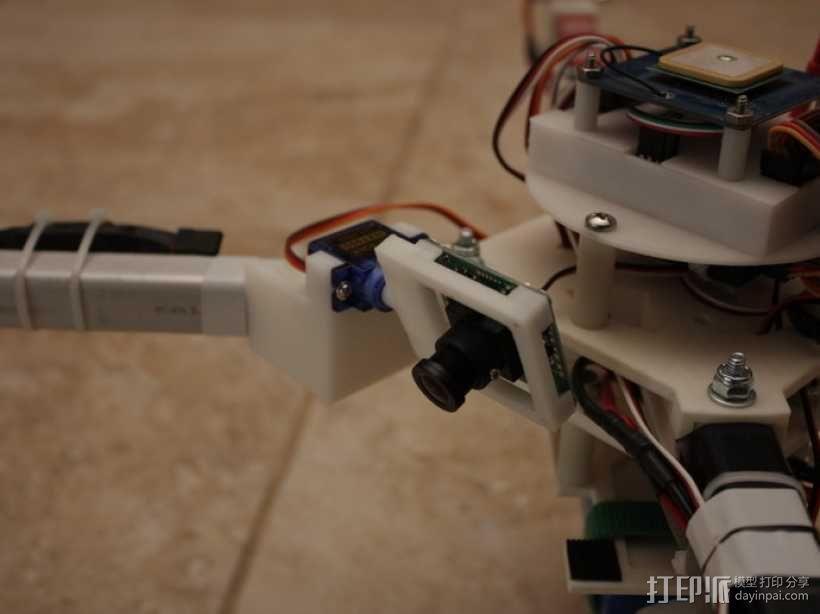 四轴飞行器 方形管 3D模型  图17
