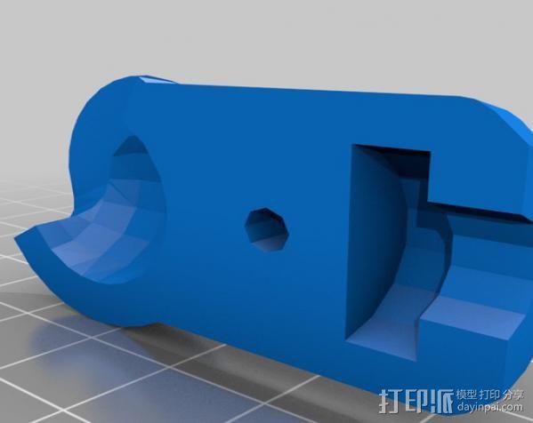 GoPro相机固定架 球形接头  3D模型  图7
