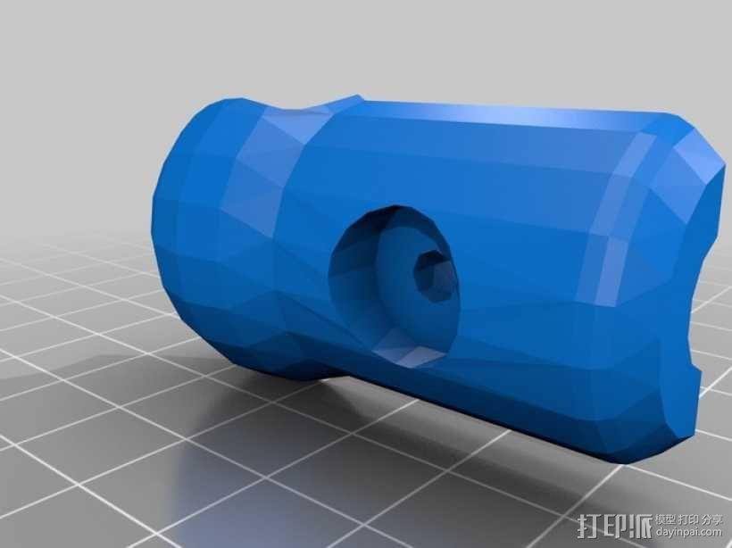 GoPro相机固定架 球形接头  3D模型  图8