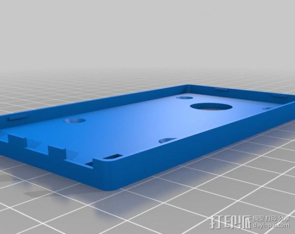 Arduino DUE微控制器底板 3D模型  图4