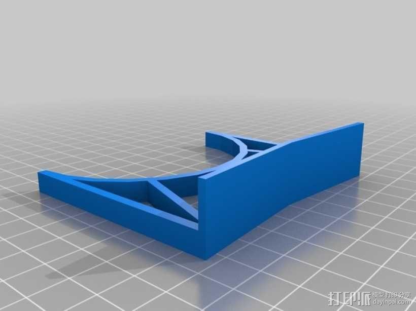 玉米轰炸机管 3D模型  图3