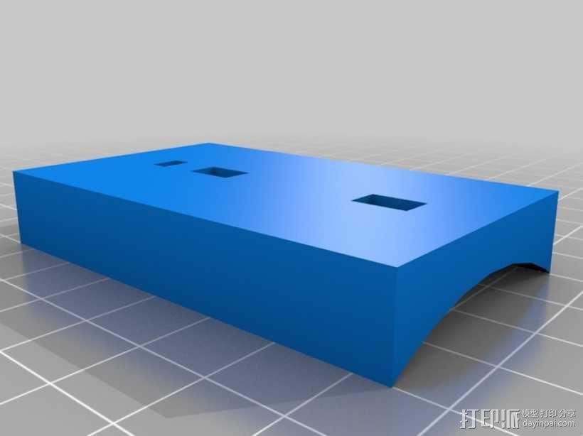 玉米轰炸机管 3D模型  图4