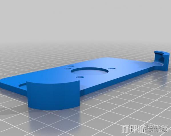 车载三星Galaxy S3手机架 3D模型  图3