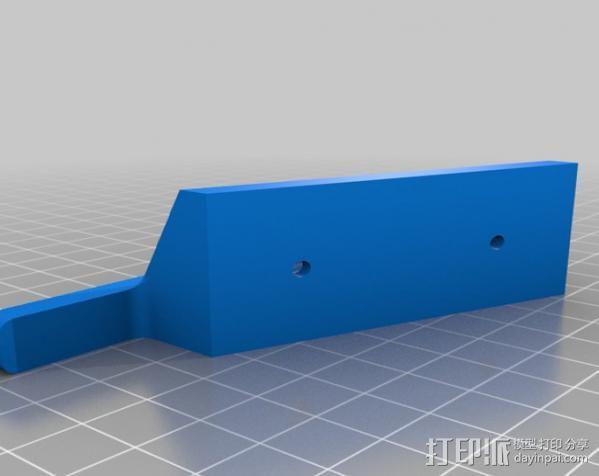 车载三星Galaxy S3手机架 3D模型  图2