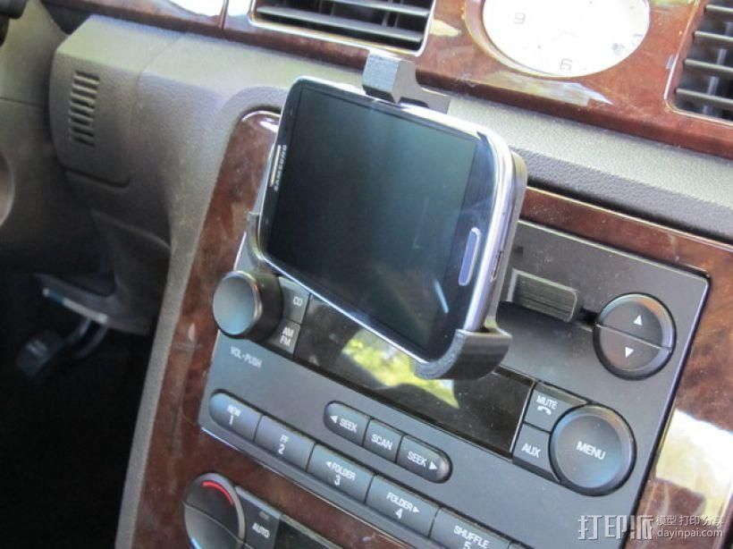车载三星Galaxy S3手机架 3D模型  图6