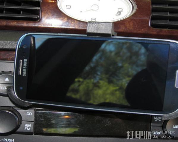 车载三星Galaxy S3手机架 3D模型  图8