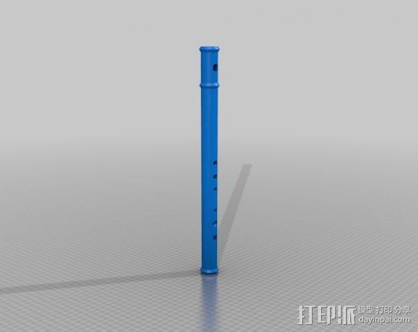 长笛 3D模型  图3