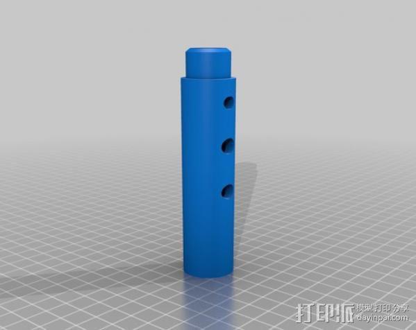 长笛 3D模型  图7