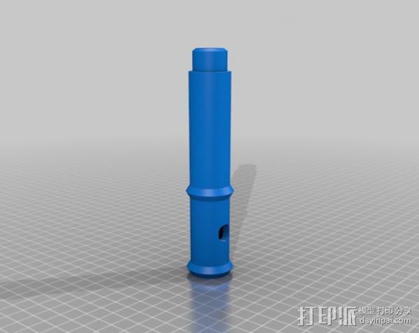 长笛 3D模型  图4