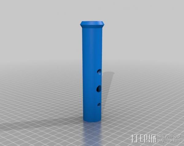 长笛 3D模型  图10