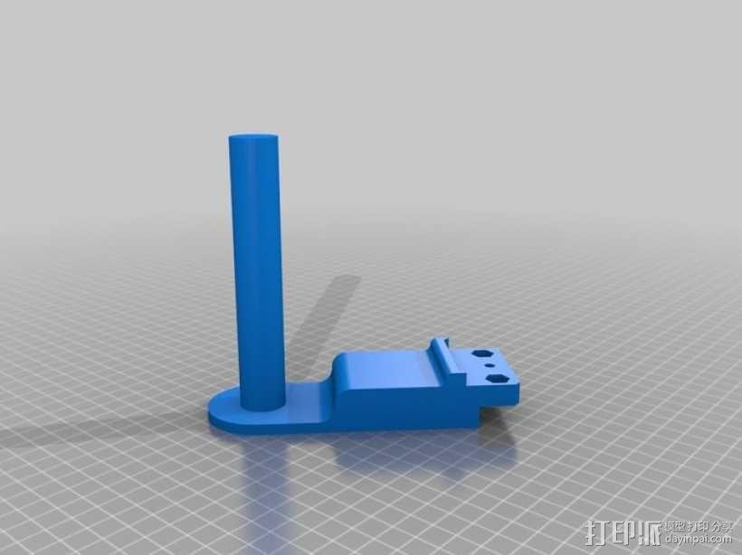 潜水GoPro相机手柄 3D模型  图4