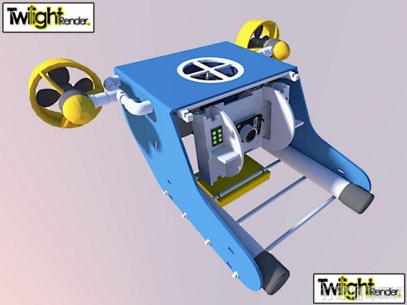 OpenROV水下机器人 3D模型  图1