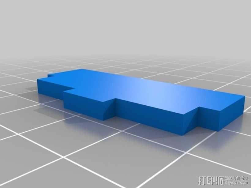 OpenROV水下机器人 3D模型  图15