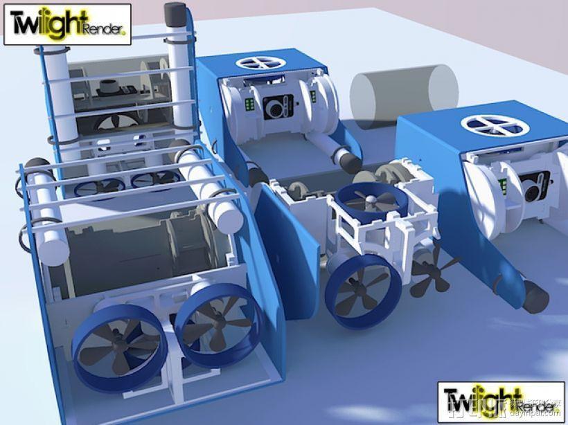 OpenROV水下机器人 3D模型  图24