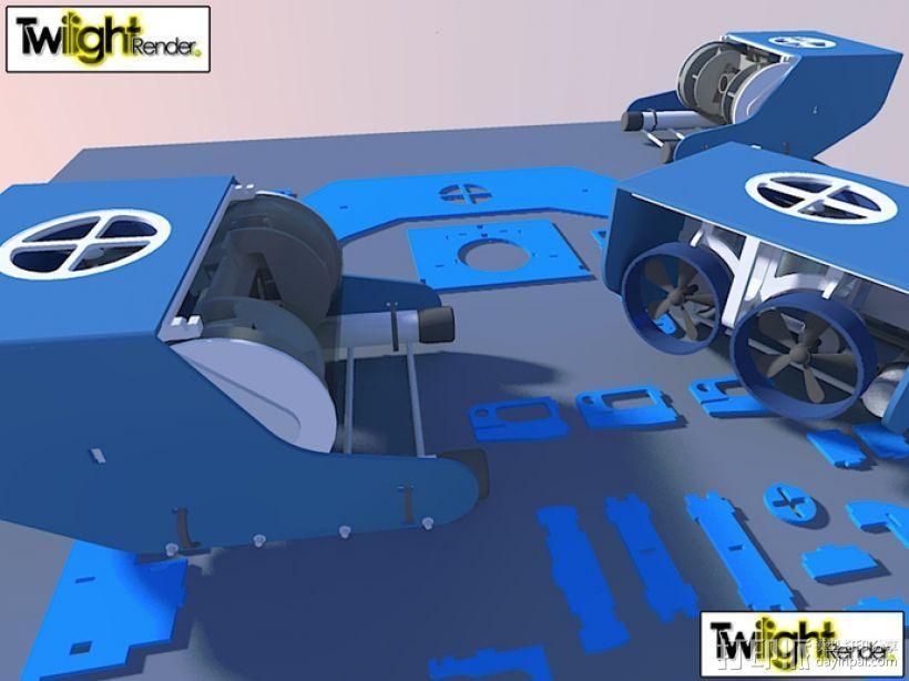 OpenROV水下机器人 3D模型  图26