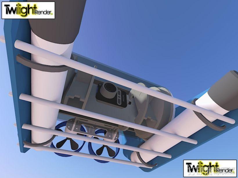 OpenROV水下机器人 3D模型  图30