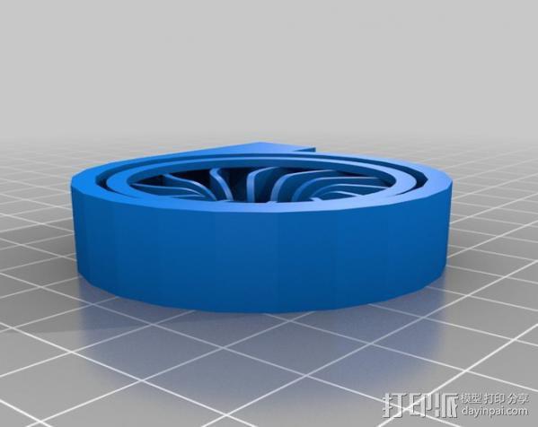 径流式风扇扇套 3D模型  图5