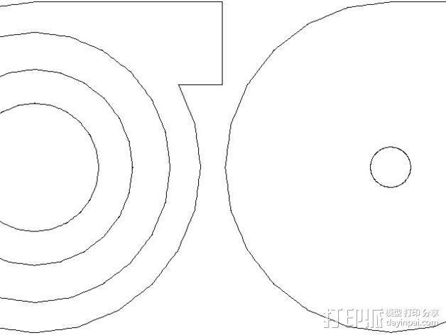 径流式风扇扇套 3D模型  图6