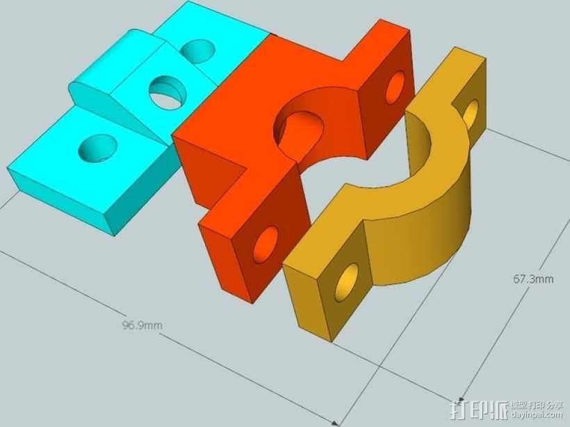 雷达检测器支架 3D模型  图7