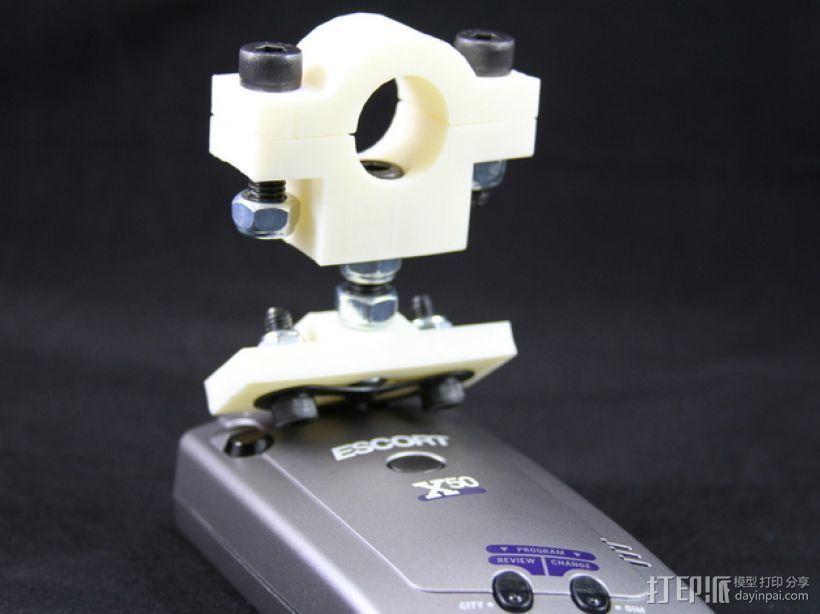 雷达检测器支架 3D模型  图9