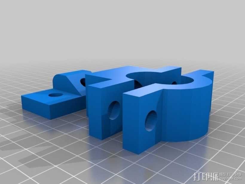 雷达检测器支架 3D模型  图10