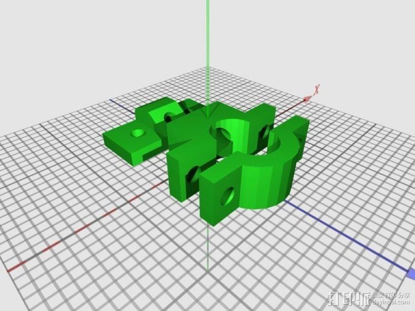 雷达检测器支架 3D模型  图11