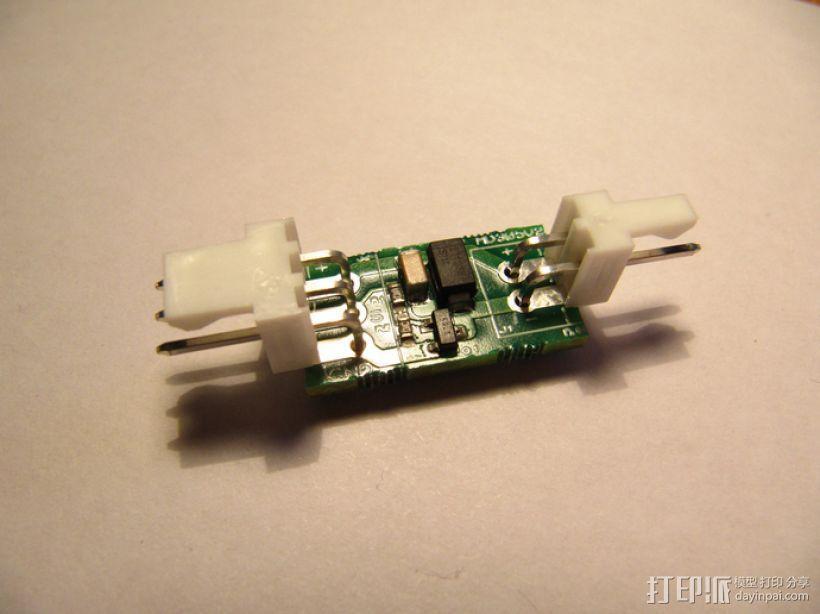 冷却扇MOSFET驱动电路 3D模型  图1