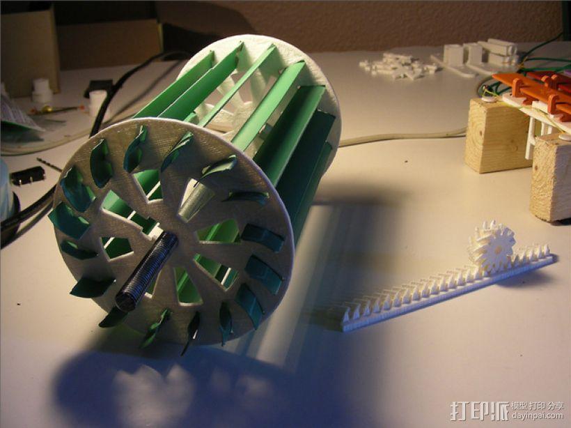 水车 3D模型  图6