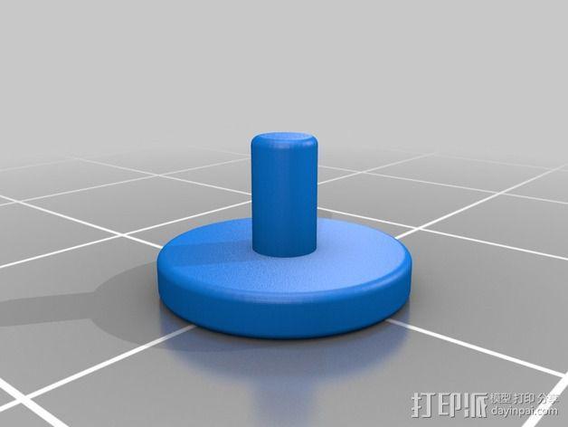 伺服器下端盖 3D模型  图3