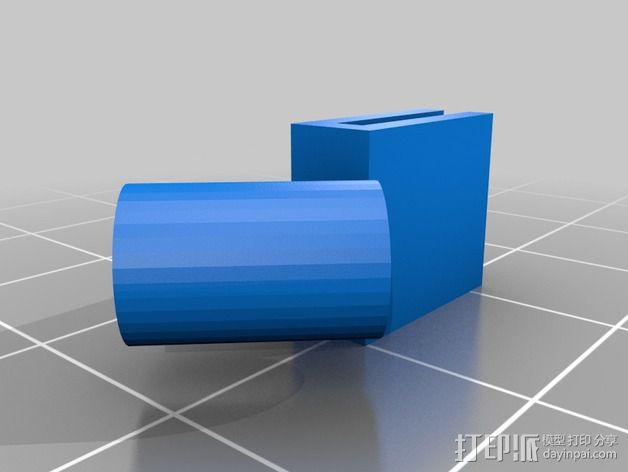迷你天线架 3D模型  图1