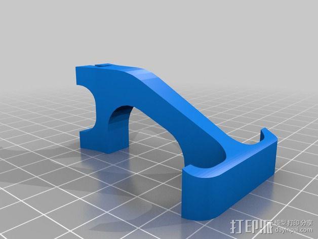 多轴飞行器 传动装置 3D模型  图3