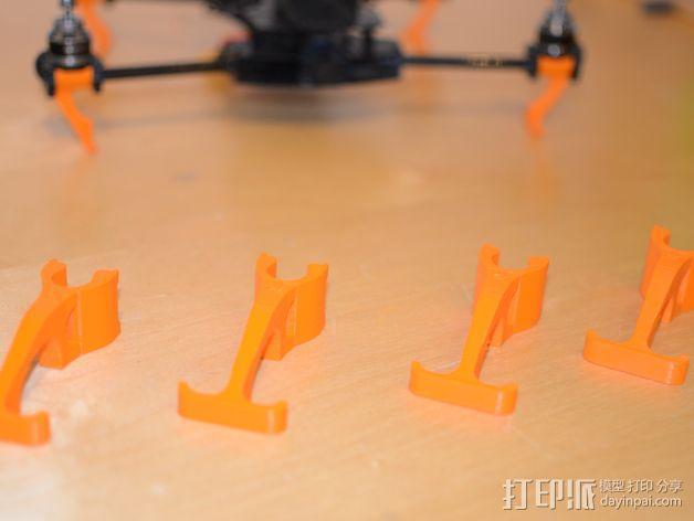 多轴飞行器 传动装置 3D模型  图4